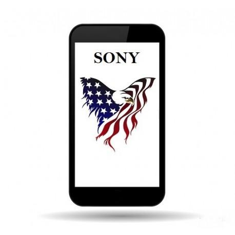 1302-4795 Sony XPERIA X DUAL (F5122) White LCD DISPLAY MODULE